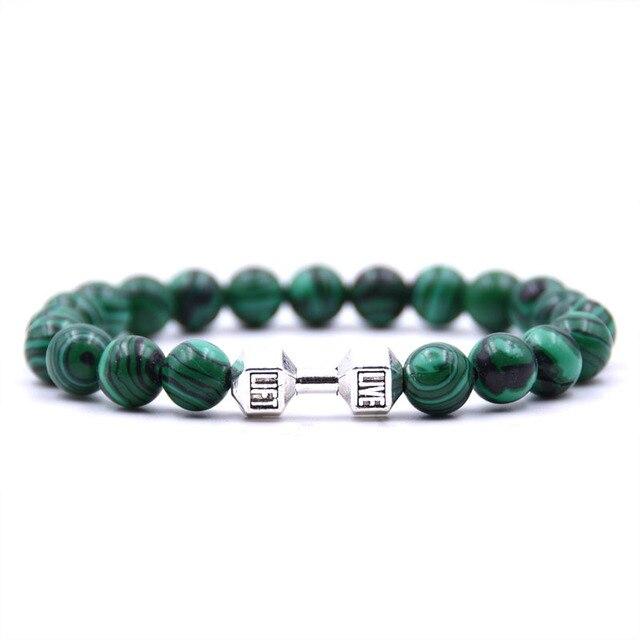 Bracelet Malachite Vert