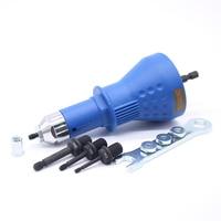 M3 M6 Rivet Nut Tool Adaptor Cordless Drill Adapter Rivet Nut Gun Battery Electric Rivet Drill