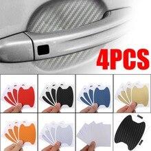 4Pcs/Set Car Door Film Sheet Handle Scratch Sticker Protector Cover