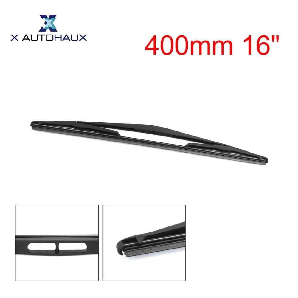 x autohaux 400mm 16 rear window windshield car wiper blade for nissan kubistar 2003 to [ 1000 x 1000 Pixel ]
