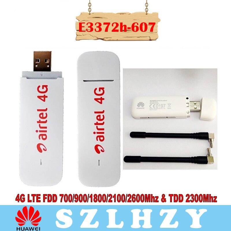 plus Ein Paar Von Antenne Lot Von 10 Stücke Entsperrt Neue Huawei E3372 E3372h-607 4g Lte 150 Mbps Usb Modem 4g Lte Usb Dongle