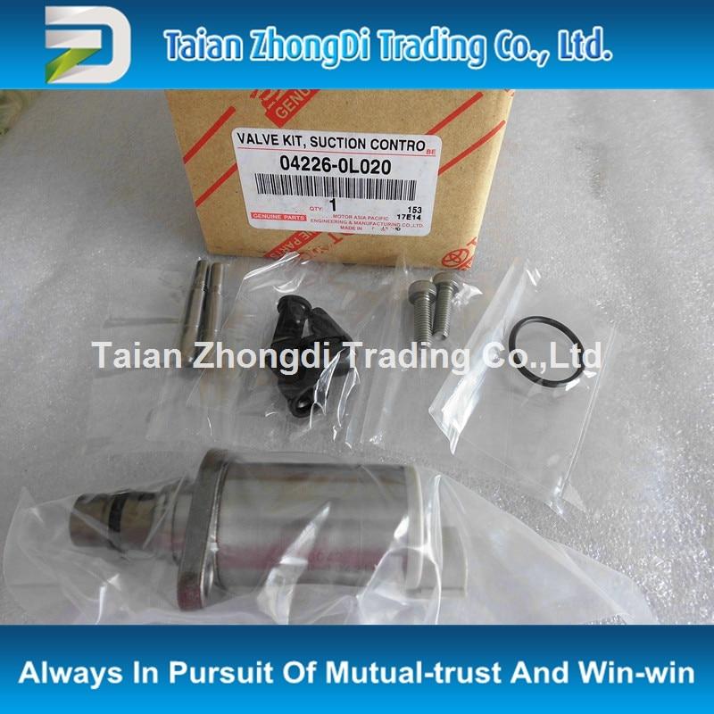TAZONDLI original  Repair Kit / Overhaul Kit / SCV Valve ASSY 04226-0L020 new scv valve 294009 0260 2940090260 dcrs300260 for john deere re560091