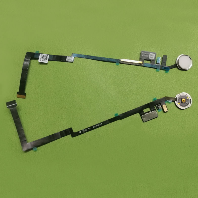 Home Button Flex Cable for iPad air3 air 3 for ipad 5 2017 9.7 inch a1822 A1823 fingerprint on off button Assembly menu key