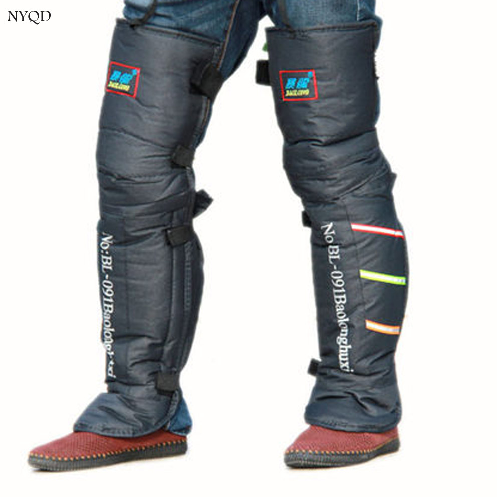 Motorcycle Winter Knee and motorcycle leg protectors warm motocross knee pads Scooter E-bike Trikes use in Winter scooter leg knee warm and wool cashmere wool and thickening long leg warmers in the fall and winter of an old product knee joints