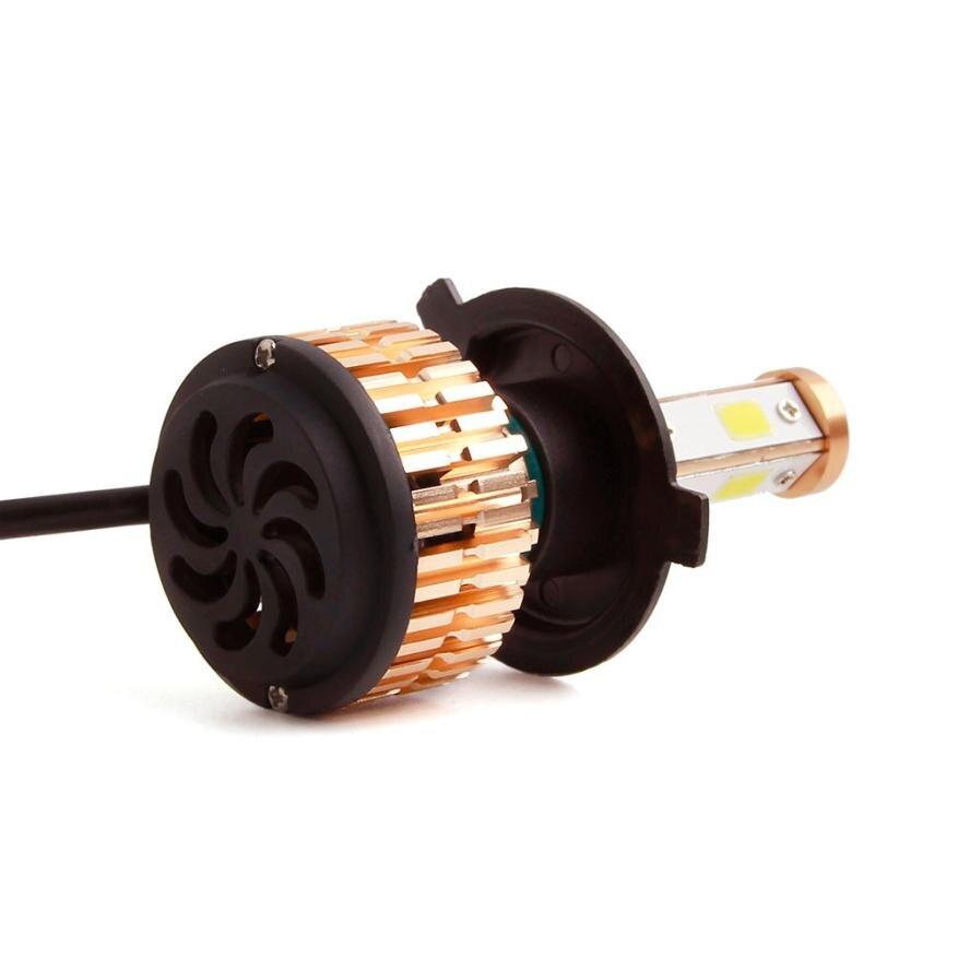 Acheter H4 LED Lampe Phare Kit De Voiture Faisceau Ampoules 6000 k Blanc Canbus Avec 8000LM/Set (6000LM/chaque ampoule) Lumens # LDa de Phare Ampoules fiable fournisseurs