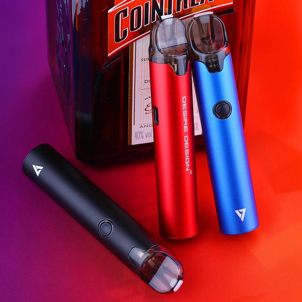 100 Original Desire More Pro Pod Vape Kit With 1000mah Battery 2ml Cartridge Pod System Vape Pod Kit Vs Endura T20 S Dejavu Cartly Shop