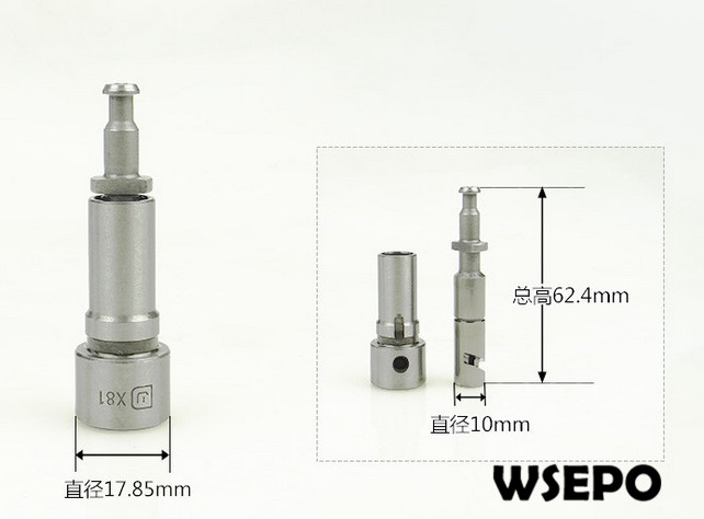 OEM Quality! Plunger Assy for ZH1130 4 Stroke Single Cylinder Small Water Cooled Diesel EngineOEM Quality! Plunger Assy for ZH1130 4 Stroke Single Cylinder Small Water Cooled Diesel Engine