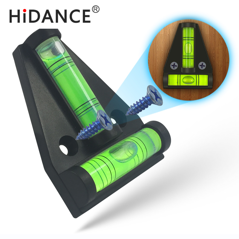 Instruments de mesure de niveau HiDANCE Indicateur de niveau triangulaire en plastique Transversal longitudinal