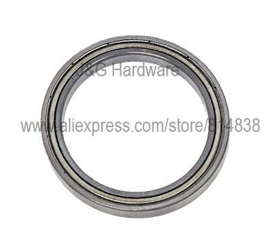 6804ZZ Bearing 20x32x7 Shielded Ball Bearings 50 pieces