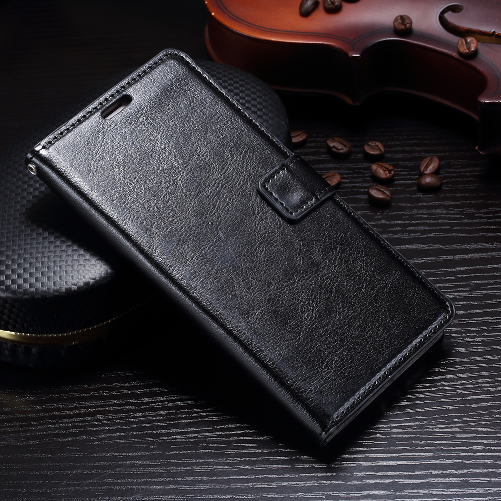 FLIP COVER WALLET Samsung Galaxy J2 Pro 2018 Leather Case Kulit Dompet Casing Retro Vintage Premium Kick Stand Magnetic Lock