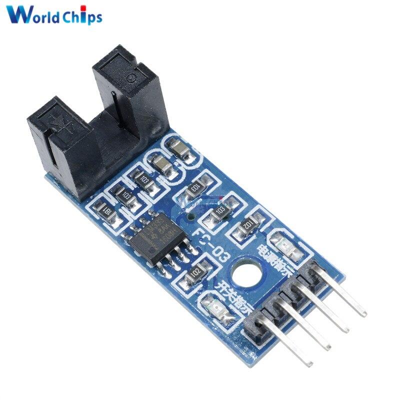 2pcs Slot-type Optocoupler Module Optocoupler circuit Module NEW