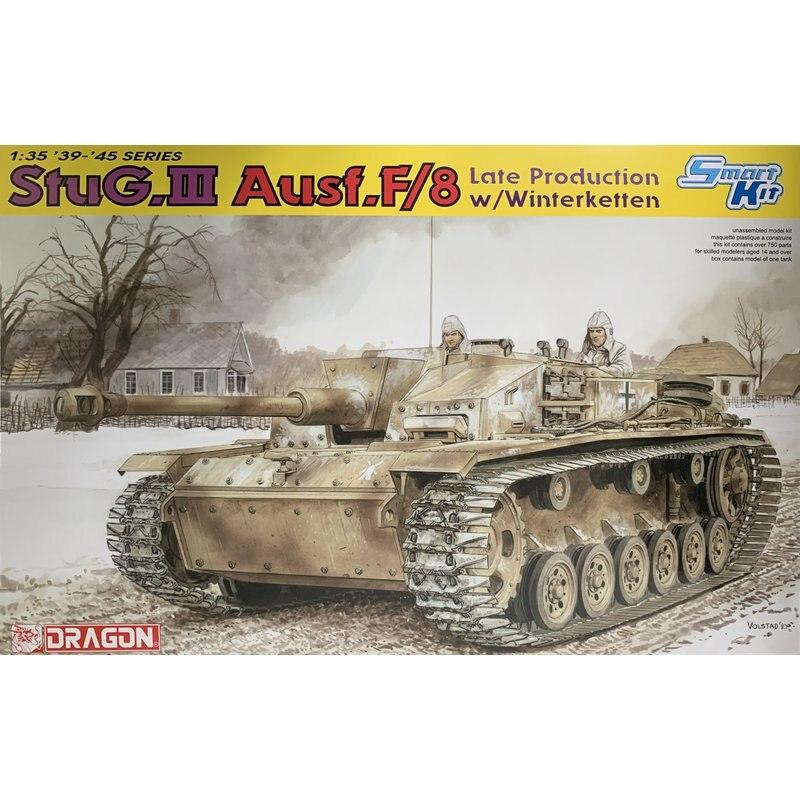 ドラゴン 6644 1/35 StuG. III Ausf. F/8 後期型 w/Winterketten のスケールモデルキット  グループ上の おもちゃ & ホビー からの モデル構築キット の中 1