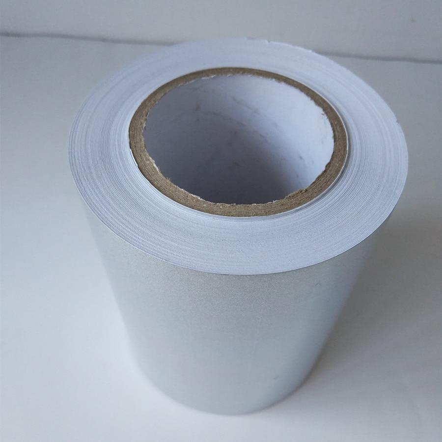Купить с кэшбэком self-adhesive Sticker holographic sand pattern PP film Flash Tape For Fishing Lure Materail Metal Hard Baits Hooks Sticker