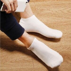 Image 4 - 5 paar/partij Xiaomi Mijia 365 slijtage Casual Mannen Sokken Katoenen Sokken Korte Onzichtbare Slippers Mannelijke Ondiepe Mond No Show Sok