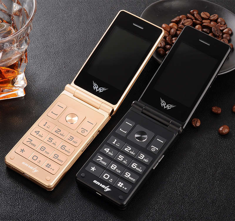 """Image 2 - Flip 2.8"""" screen original flip big keyboard cheap senior touch mobile phone Phone Elder clamshell Cell phones russian H mobile-in Cellphones from Cellphones & Telecommunications"""