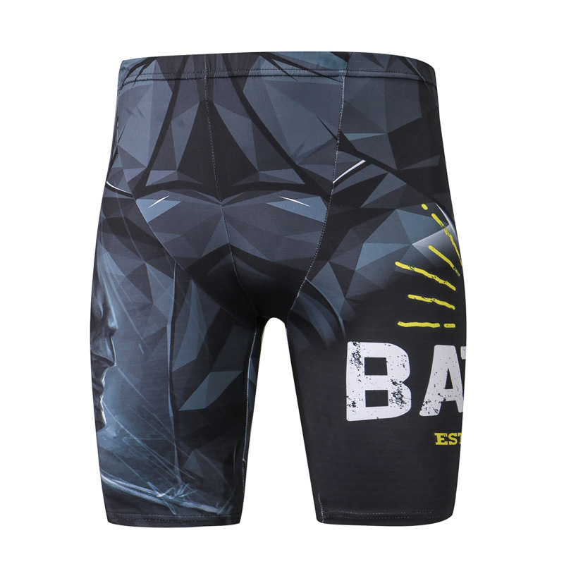 Kompresi Menjalankan Celana Pendek Pria Superhero Pelari Kurus Celana - Pakaian olahraga dan aksesori