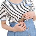 Коротким рукавом хлопок уход беременность платья для беременных одежда для беременных одежда Ropa Embarazada Gestante Vestidos