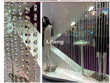 Free Shipping K9 Crystal Beads,10M/lot 14mm Octagon Bead Chain,CRYSTAL GLASS CURTAIN STRANDS,Home/WINDOW/DOOR CURTAIN Decoration
