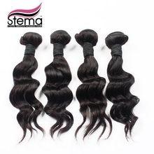 Free Shipping Brazilian Virgin Hair Loose Body Wave 4pcs/lot 50g/pc Unprocessed Brazilian Human Hair Bundles Brazilian Hair