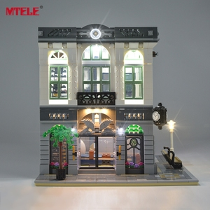 Image 3 - MTELE LED Light Up Kit For Creator Brick Green Bank Lighting Set Compatible With 10251 (Not Include Model)