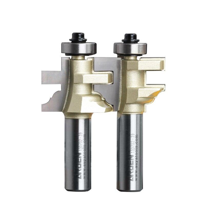 Holzbearbeitung Werkzeug Stil & Schiene Montiert Arden Router Bit -1/2*1-I,1/2 * 1-II -1/2