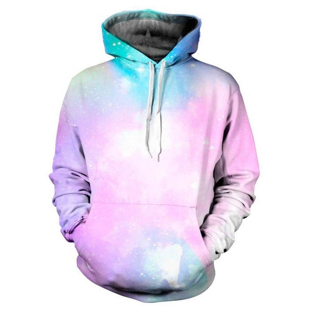 Headbook Galaxy Hoodies Women/Men Sweatshirt 3d Hooded Hoodies Cap Hoody Pink Thin Tracksuits Brand Hoodies YXQL017