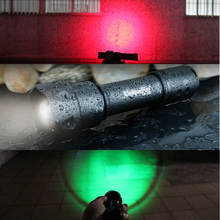 UniqueFire Navy Flashlight UF-T20 Cree XPE Zoom 38mm Convex Len Tail Cap Change 3Mode Working Flashlight Torch For Looking