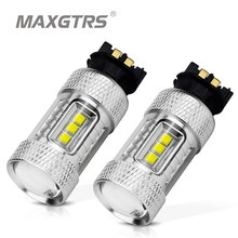 2x Car Clearance Light LED PW24W PWY24 CREE Chip DRL Daytime Running Light Turn Signal Fog Replacement Bulb For Audi a3 a4 a5 q3