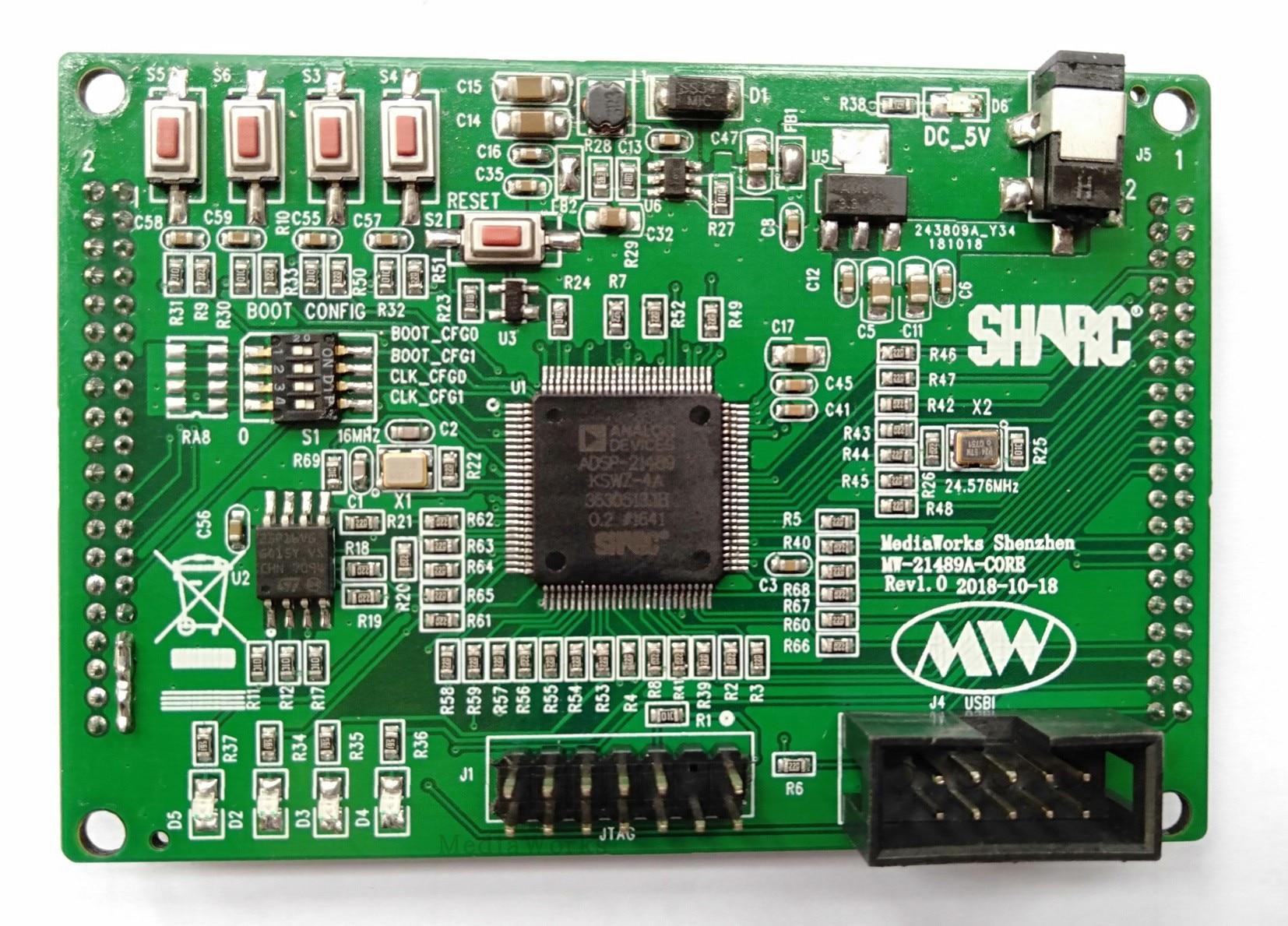 SHARC DSP ADSP-21489 Core Board