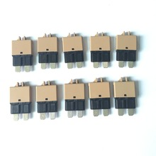 10 PCS DC 28V Resettable Universal Circuit Breakers 5A 7.5A 10A 15A 20A 25A 30A Fits where fuse terminal is recessed