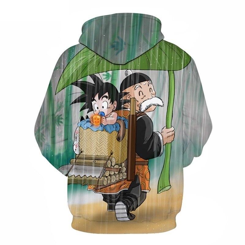 3D Hoodie Dragon Ball Sweatshirts (2)