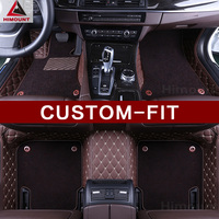 Custom fit car floor mats for Toyota Crown 12th 13th 14th generation 3D high quality luxury car styling rugs carpet liners