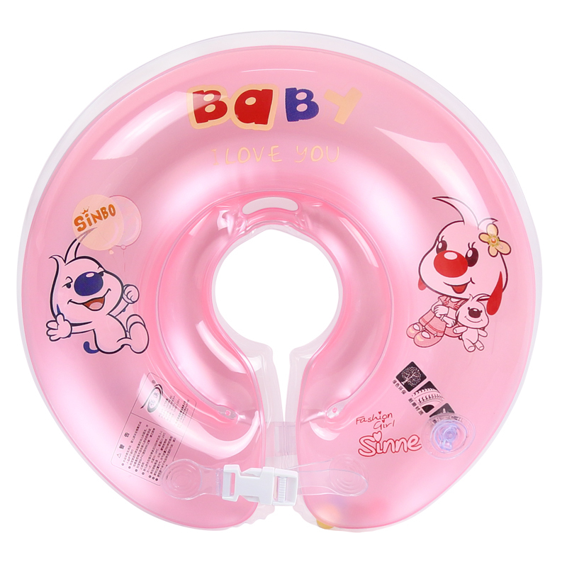 € 110 96 |Snow Australia baby neck ring infant swim ring collar baby collar  swimming ring blisters lifebuoy dans Anneaux de natation de Sports et