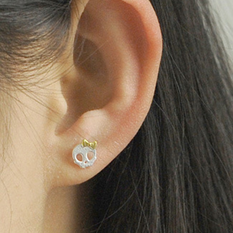Girls Parrot Colorful Ear Studs 925 Sterling Silver