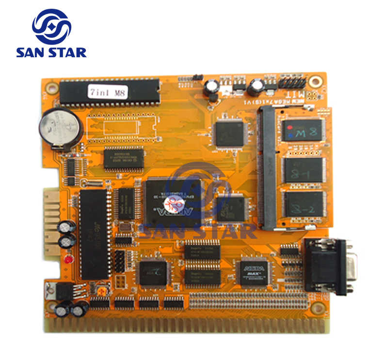 Detail Feedback Questions about New 7 In 1 Game Pcb ... on