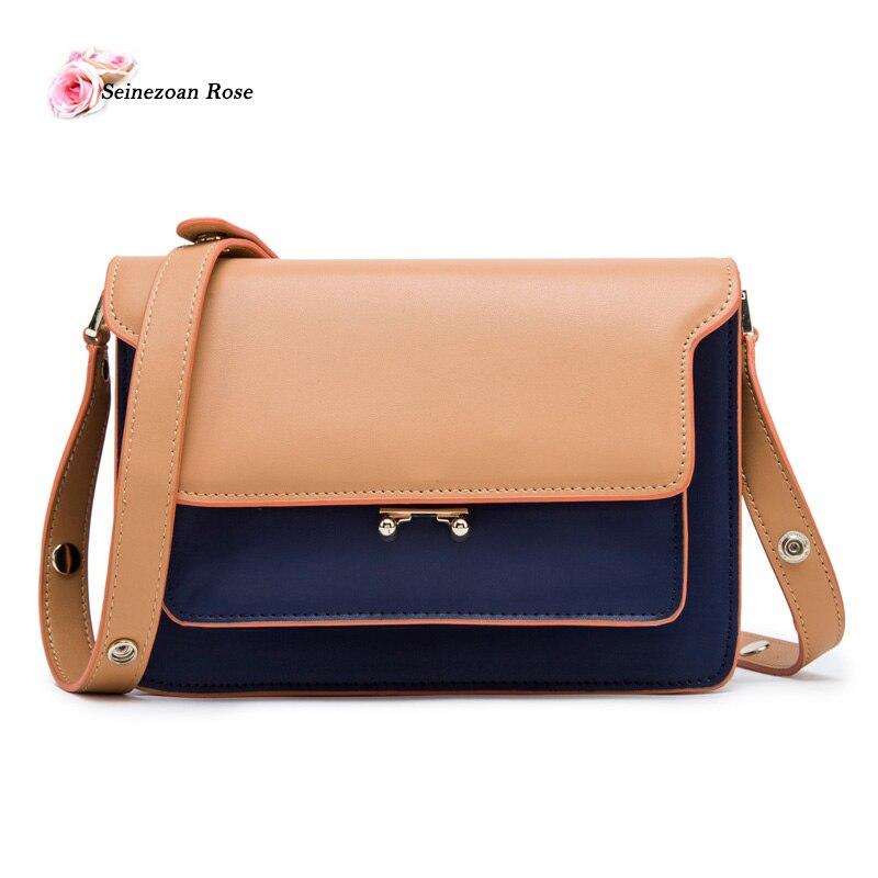 ФОТО 2017 Luxury Women Genuine Leather Flap Bags Small Shoulder bags Female Handbags Messenger Bags for Women Luxury Brand Bags