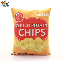 Plush Pop Corn Cola Chips French Fries Snack Toy Stuffed Doll Throw Pillow Sofa Cushion Bar Restaurant  Home Decor Craft Gift