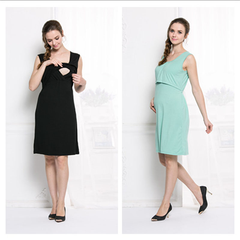 Pregnancy Nursing clothes for pregnant women lactation maternity dresses clothing for breastfeeding dress for pregnant summer