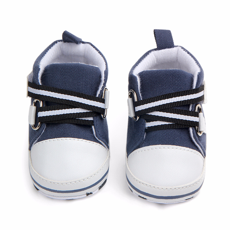 Fashion Baby Boys Shoes High Top Sneakers Newborn Infant Toddler