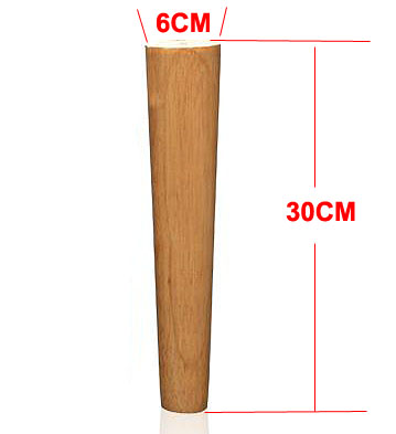 4Pieces/Lot H:30CM  Diameter:4-6.5cm   Solid Wood Sofa Cupboard Legs Feet Furniture Parts4Pieces/Lot H:30CM  Diameter:4-6.5cm   Solid Wood Sofa Cupboard Legs Feet Furniture Parts