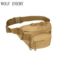 New Outdoor Military Tactical Waist Pack Shoulder Bag Molle Camping Hiking Pouch