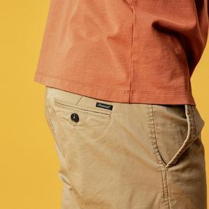 Image 4 - Simwood shorts masculinos de algodão, bermudas masculinas de alta qualidade na altura do joelho casuais, tamanho grande 9, verão 2020 cor disponível