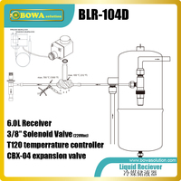 6L 키트 설치해야합니다 때 압축기 실행하지 낮은 흡입 압력 또는 높은 집광 온도