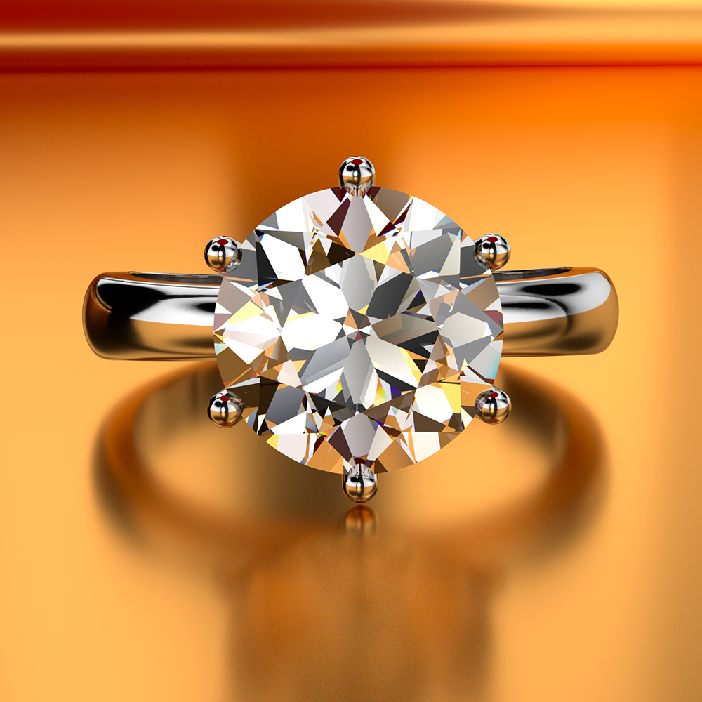 Anillo solitario 100% Soild 999 Jewellery  de plata de ley 2019 1.5ct Sona AAAAA Zircon Cz anillo de compromiso para mujerAnillo solitario 100% Soild 999 Jewellery  de plata de ley 2019 1.5ct Sona AAAAA Zircon Cz anillo de compromiso para mujer