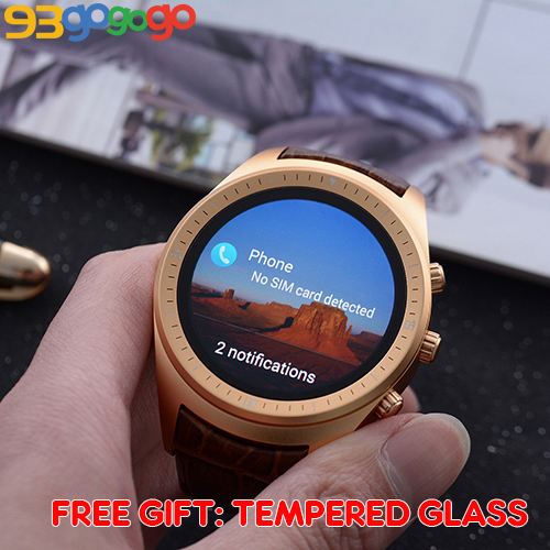 US $154 99 |K18 Smart Watch 3G Android 4 4 SmartWatch Support SIM Card WIFI  GPS Bluetooth 512M RAM 4G ROM Heart rate Tempered Glass Gift-in Smart