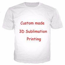 b66489ea PLstar Cosmos Create Your Own Customer Design  Anime/Photo/Star/Animal/Singer Pattern/DIY t-shirt 3D Print Sublimation Tee  shirts