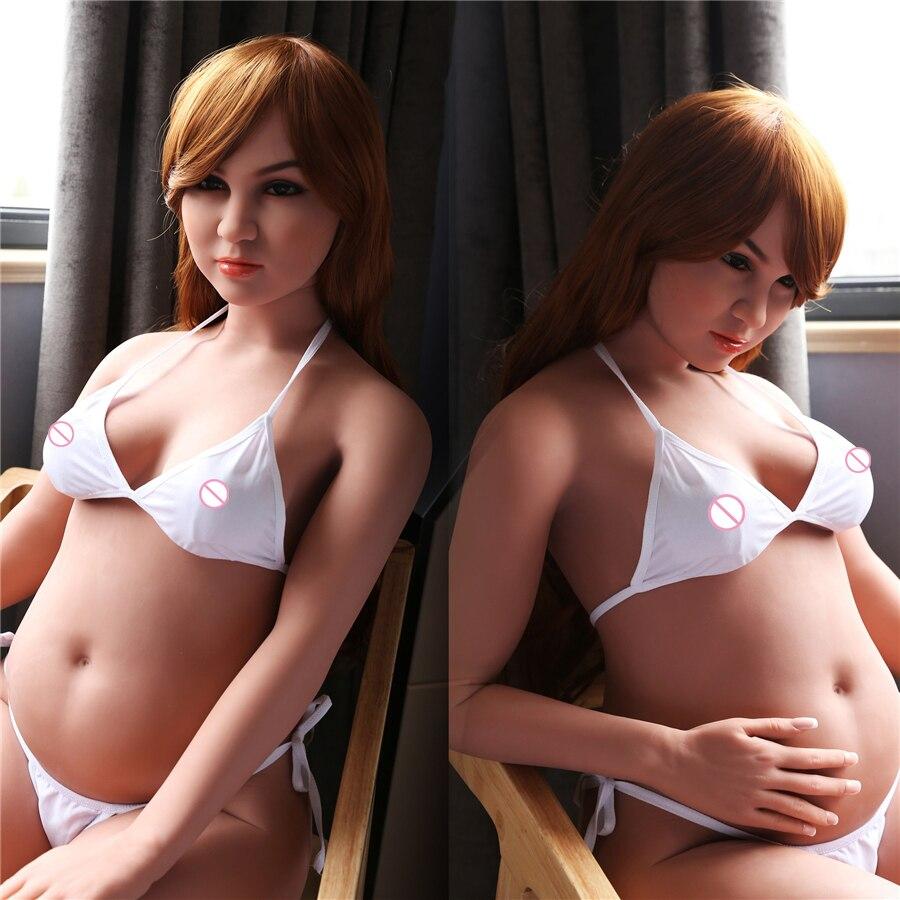 2017 nuova bambola del sesso in gravidanza bambola del sesso per gli uomini il sesso big ass big tummy fat bambole del sesso del silicone