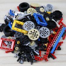 250g Technic Parts Liftarm Beam Cross Axle Frame Connector Pin MOC Technic Pieces Technic Blocks Set Accessory Childrens Toys