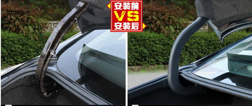 For Nissan Teana Altima 2013 2014 2015 Plastic Rear Trunk Inside Hinged Protective / Support Bar Cover Kit Trim