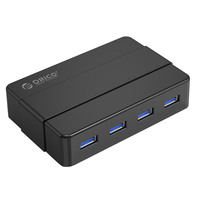 USB 3.0 4 Port USB Hub Splitter Adapter 5Gbps for Laptop Computer PC Superspeed USB Hub Suitable for notebooks , H4928 U3 V1